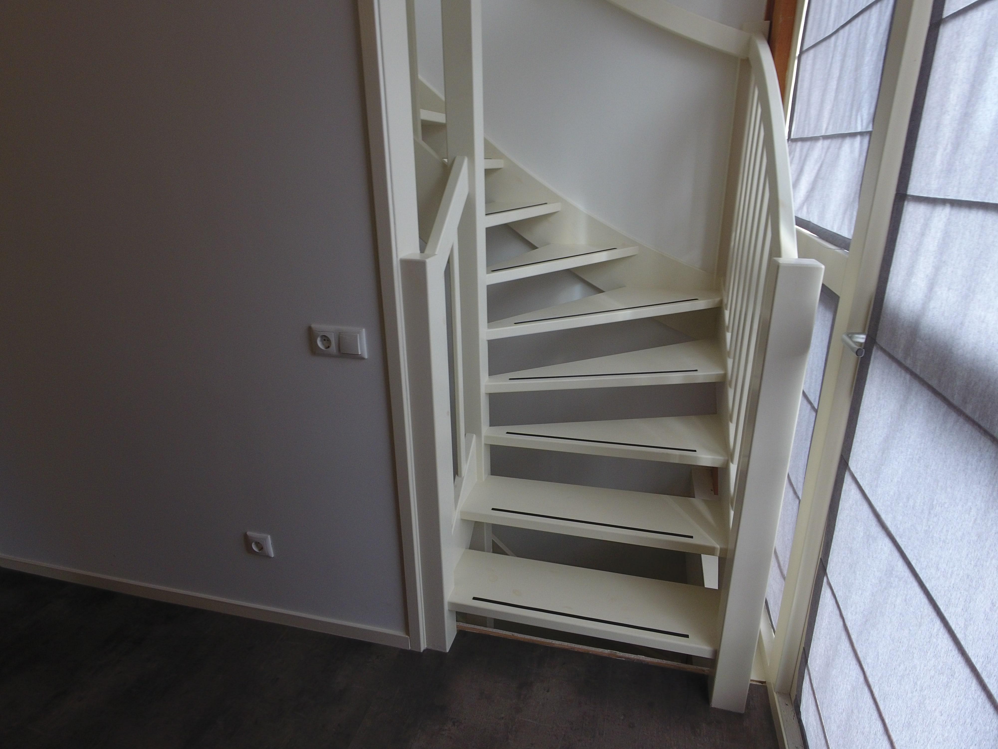 vaste trap maken